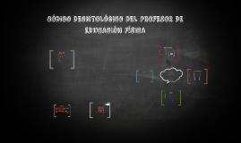 Código deontológico del profesor de educadión física