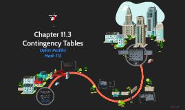 MATH 115 Chapter 11.3