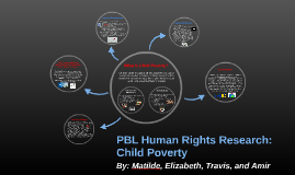 PBL Human Rights Research: Child Poverty