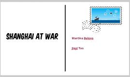 SHANGHAI AT WAR