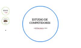 ESTUDIO DE COMPETIDORES