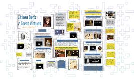 Copy of Citzen Ben's 7 Great Virtues