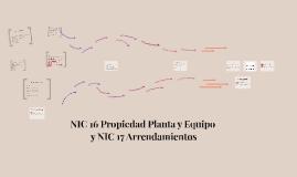 Propiedad, planta y Equipo NIC 16 Y Arrendamientos NIC 17
