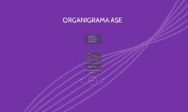ORGANIGRAMA ASE