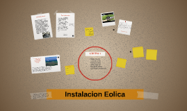 Instalacion Eolica