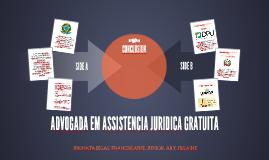 ADVOGADA EM ASSISTENCIA JURIDICA GRATUITA