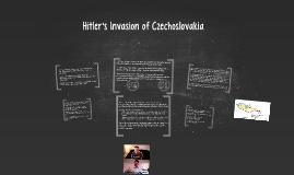 Hitler's Invasion of Czechoslovakia