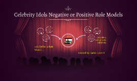 Celebrity Idols Negative or Positive Role Models