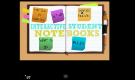 Interactive Student Notebook Intro & Set-up