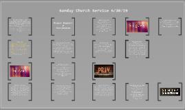 Sunday Church Service 6/30/19