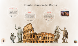 Copy of El arte clásico de Roma