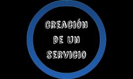 Creacion de un servicio