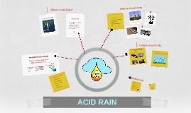 Copy of ACID RAIN