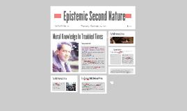 Epistemic Second Nature