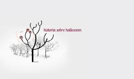 historia sobre hallween