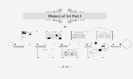 History of Art Part I