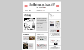 Cultural References and Allusions to MOV