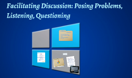 Copy of Facilitating discussion