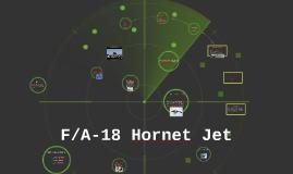 F/A-18 Hornet Jet