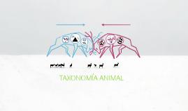 Copy of Taxonomía animal