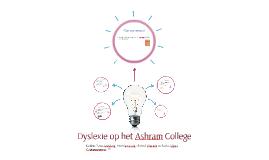 Dyslexie op het Ashram College
