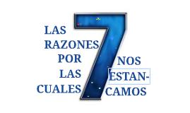 25 Las 7 Razones-H