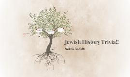 Jewish History Trivia