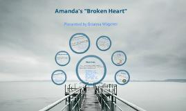 """Amanda's """"Broken Heart"""""""