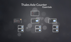 Thales Axle Counter