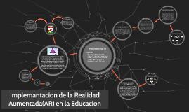 Implementacion de la Realidad Aumentada(AR) en la Educacion