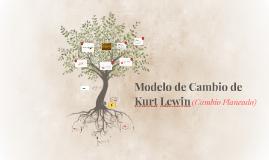 Modelo de Cambio de Kurt Lewin