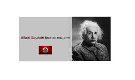 Albert Einstein face au nazisme