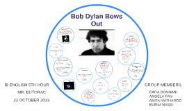 Bob Dylan Bows Out