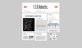 1.1.8 Adverbs.