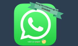 raising the minimum age for WhatsApp
