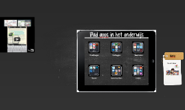 Copy of iPad apps for Education
