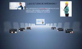 FUERO DE MATERNIDAD