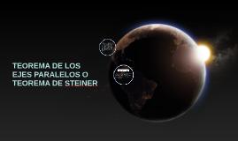Copy of TEOREMA DE LOS EJES PARALELOS O TEOREMA DE STEINER