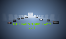 Copy of MATERIALES CURRICULARES 2015