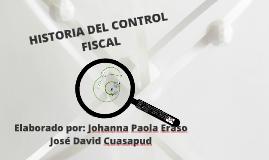 HISTORIA DEL CONTROL FISCAL