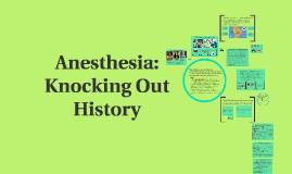 Anesthesia: Knocking Out History