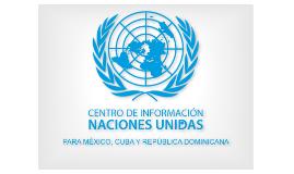 Naciones Unidas como fuente de información