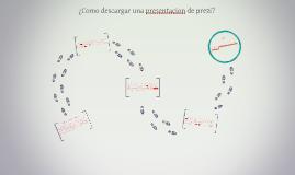Copy of Copy of ¿Como descargar una presentacion de prezi?