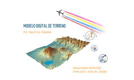 MODELO DIFITAL DE TERRENO