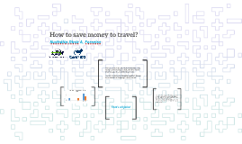 How to save money to travel?