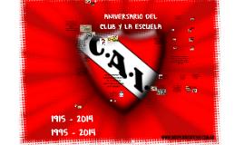 Copy of Aniversario del club y la escuela