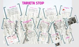 Copy of TARJETA STOP