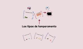 Copy of Los tipos de temperamento