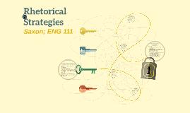 Rhetorical Strategies