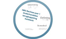 HBOR1 - CMO - Onderhandelen - 2